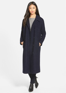 Andrew Marc Wool Blend Bouclé Long Coat (Online Only)