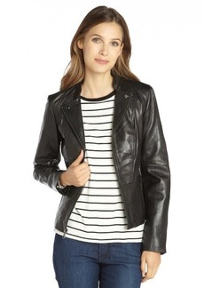 Marc New York black leather zip front 'Molly' jacket