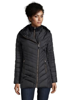 Marc New York black quilted 'Kaley' hooded double down jacket