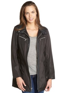 Marc New York black water resistant 'Roni' flared jacket