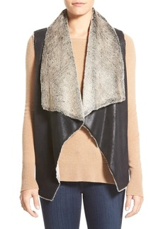 Marc New York 'Blake' Faux Shearling Vest (Online Only)
