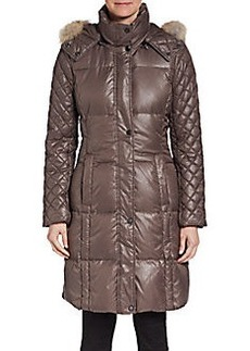 MARC NEW YORK by ANDREW MARC Alana Fur-Trimmed Puffer Jacket