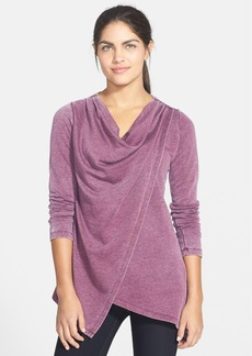 Marc New York by Andrew Marc Asymmetrical Draped Top
