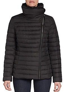 MARC NEW YORK by ANDREW MARC Asymmetrical-Zip Puffer Jacket