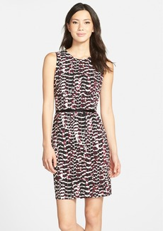 Marc New York by Andrew Marc Batik Print Jersey Popover Dress