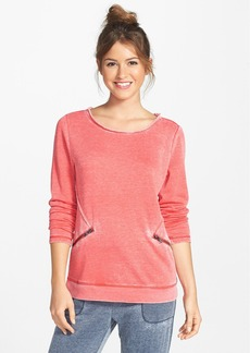 Marc New York by Andrew Marc Boxy High/Low Sweatshirt