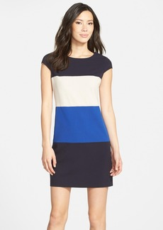 Marc New York by Andrew Marc Colorblock Stretch A-Line Dress