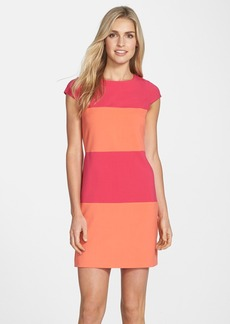 Marc New York by Andrew Marc Colorblock Stretch Shift Dress