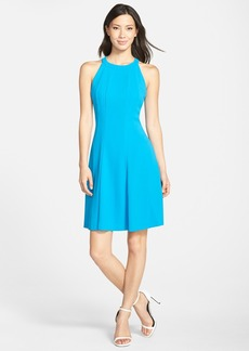 Marc New York by Andrew Marc Crepe Fit & Flare Dress