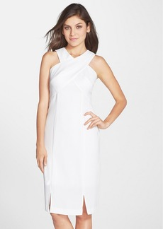 Marc New York by Andrew Marc Crepe Sheath Dress