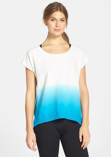 Marc New York by Andrew Marc Dip Dye Short Sleeve High/Low Pullover
