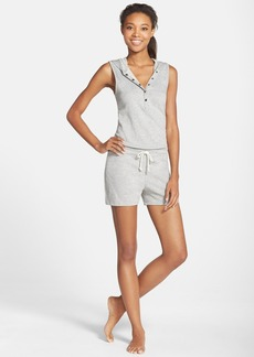 Marc New York by Andrew Marc Hooded Henley Romper