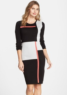 Marc New York by Andrew Marc Intarsia Sweater Dress