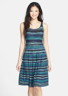 Marc New York by Andrew Marc Knit Fit & Flare Tank Dress