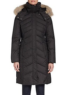 MARC NEW YORK by ANDREW MARC Mercer Fur-Trimmed Puffer Coat