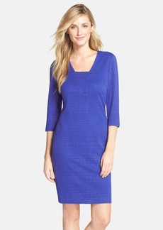 Marc New York by Andrew Marc Open Knit Sheath