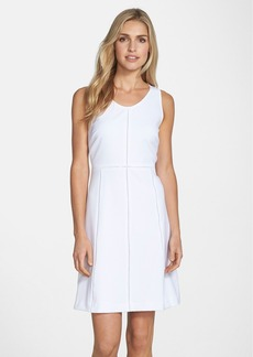 Marc New York by Andrew Marc Open Stitch A-Line Dress
