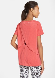 Marc New York by Andrew Marc Overlap Keyhole Back Tee