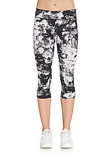 MARC NEW YORK by ANDREW MARC Performance Abstract-Print Cropped Leggings