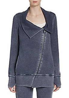 MARC NEW YORK by ANDREW MARC Performance Asymmetrical Zip-Front Sweatshirt