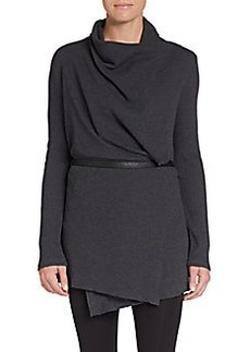 MARC NEW YORK by ANDREW MARC Performance Belted Thermal Wrap Cardigan