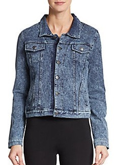 MARC NEW YORK by ANDREW MARC Performance French Terry Denim-Style Jacket