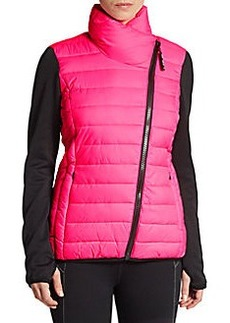 MARC NEW YORK by ANDREW MARC Performance Knit-Sleeve Tech Jacket