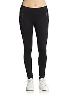 MARC NEW YORK by ANDREW MARC Performance Lurex-Stitched Leggings