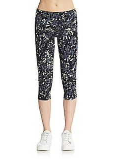 MARC NEW YORK by ANDREW MARC Performance Printed Capri Leggings