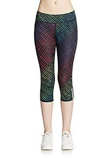 MARC NEW YORK by ANDREW MARC Performance Printed Cropped Performance Leggings