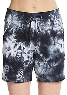 MARC NEW YORK by ANDREW MARC Performance Shibori Print Track Shorts