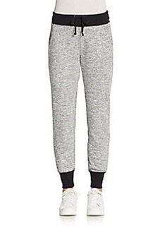 MARC NEW YORK by ANDREW MARC Performance Two-Tone Fleece Jogger Pants