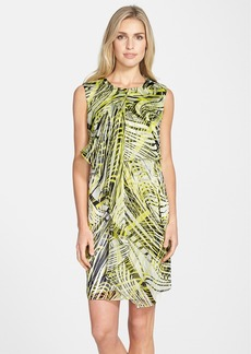 Marc New York by Andrew Marc Print Chiffon Shift Dress