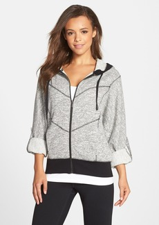 Marc New York by Andrew Marc Roll Sleeve Hoodie