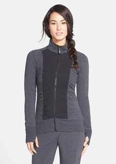 Marc New York by Andrew Marc Ruched Front French Terry Jacket