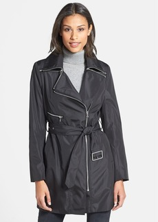 Marc New York by Andrew Marc 'Rue' Convertible Collar Asymmetric Trench (Regular & Petite)