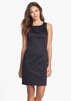 Marc New York by Andrew Marc Seam Detail Sheath Dress