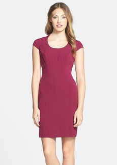 Marc New York by Andrew Marc Stretch Sheath Dress (Regular & Petite)