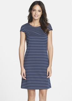 Marc New York by Andrew Marc Stripe Ponte A-Line Dress