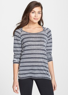 Marc New York by Andrew Marc Super Washed Stripe Jersey Tee