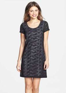 Marc New York by Andrew Marc Textured Knit A-Line Dress