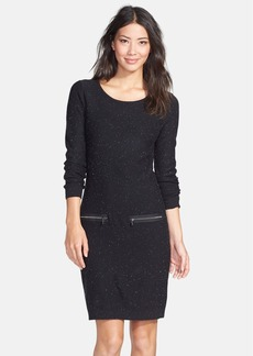 Marc New York by Andrew Marc Zip Accent Sweater Dress
