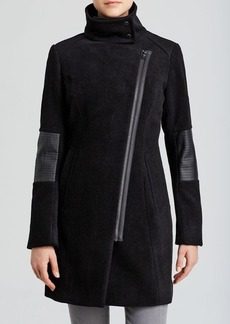 Marc New York Coat - Ada Asymmetric Zip Front