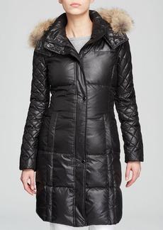 Marc New York Alana Laquer Puffer Coat