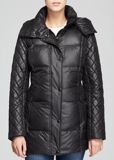Marc New York Alise Laquer Puffer Coat