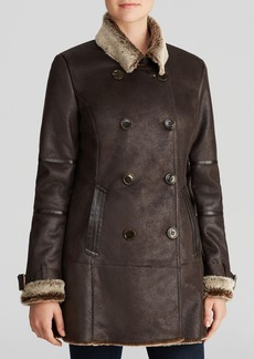 Marc New York Coat - Faux Shearling