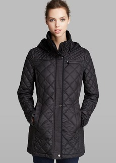 Marc New York Coat - Fay Quilted Hooded