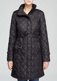Marc New York Frankie Quilted Trench Coat