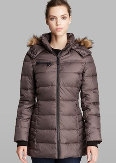 Marc New York Coat - Paris Down with Faux Fur Trim Hood