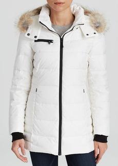 Marc New York Coat - Paris with Coyote Fur Trim Hood